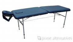 prime metal portable massage table double fold 68cm metal table